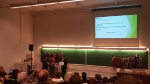 Omer Taki UCL remise de diplome